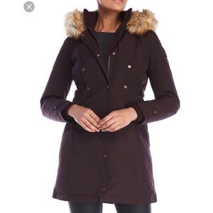 Vince Camuto Down & Feather Fill Parka